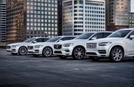 Volvo T8 plug-in hybrid models, 2018