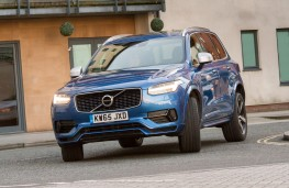 Volvo XC90 T8 Twin Engine R-Design, front, action