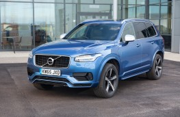 Volvo XC90 T8 Twin Engine R-Design, front, static