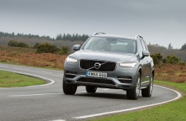 Volvo XC90 T8 Twin Engine, 2016, front, action