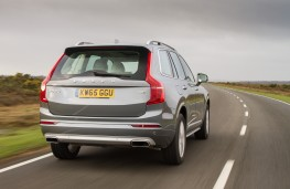 Volvo XC90 T8 Twin Engine, 2016, rear, action