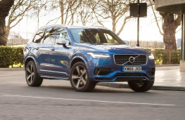 Volvo XC90 T8 Twin Engine, front, action