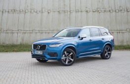 Volvo XC90 T8 Twin Engine, side, static