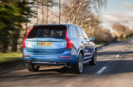 Volvo XC90 T8 Twin Engine, rear, action