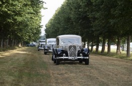 Citroen Collectors' Gathering, 2019, Traction Avant parade