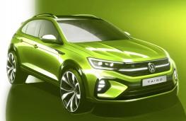 Volkswagen Taigo, 2021, front