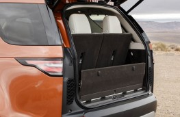 Land Rover Discovery, 2017, boot, picnic seat up