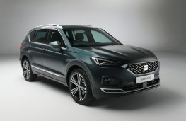 SEAT Tarraco, front