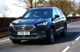 SEAT Tarraco, 2021, front