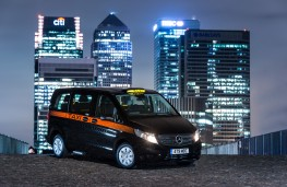 Mercedes-Benz Vito Taxi, 2017, London, Canary Wharf