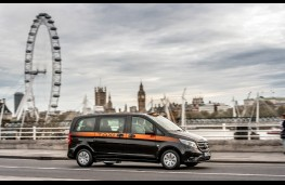 Mercedes-Benz Vito Taxi, 2017, London Eye
