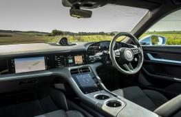 Porsche Taycan, 2020, interior