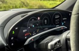 Porsche Taycan, 2020, instrument panel