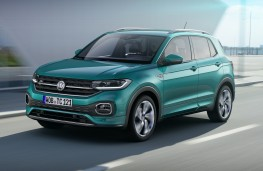 Volkswagen T-Cross, 2019, front, action