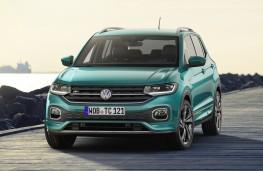 Volkswagen T-Cross, 2019, front