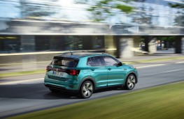 Volkswagen T-Cross, 2019, rear