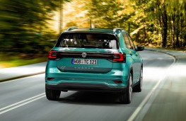 Volkswagen T-Cross, 2019, rear
