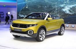 Volkswagen T-Cross Breeze, front, Geneva Motor Show 2016