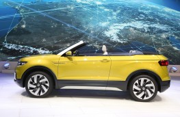 Volkswagen T-Cross Breeze, side, Geneva Motor Show 2016