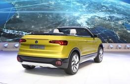 Volkswagen T-Cross Breeze, rear, Geneva Motor Show 2016