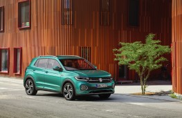 Volkswagen T-Cross, 2019, side
