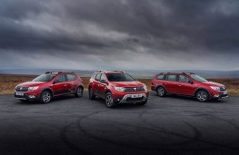 Dacia Techroad line up, Sandero Stepway, Duster and Logan MCV