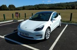 Tesla Model 3, 2019, front