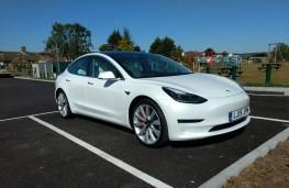 Tesla Model 3, 2019, front, static