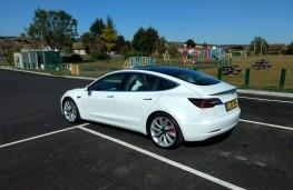 Tesla Model 3, 2019, rear