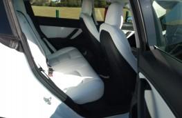 Tesla Model 3, 2019, rear seats