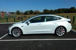 Tesla Model 3, 2019, side