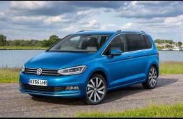 Volkswagen Touran 2016, front