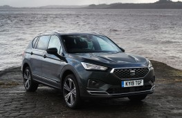 SEAT Tarraco, 2019, front, static