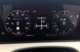 Range Rover Velar, 2017, instrument panel