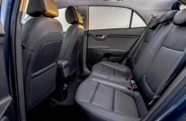 Kia Rio 3 1.0 T-GDi, 2017, rear seats