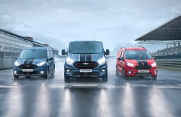 The new Ford Transit Sport van range