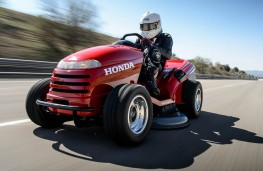 The original Honda Mean Mower in action