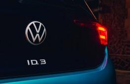 Volkswagen ID.3, 2022, rear