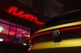 Volkswagen ID.4, 2022, rear