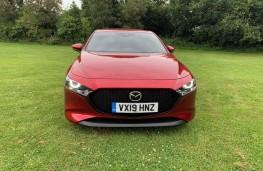 Mazda3, front