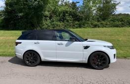 Range Rover Sport, side