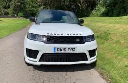 Range Rover Sport, front