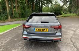 Audi A4 Avant, rear