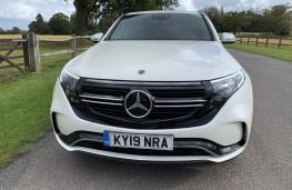 Mercedes EQC, front