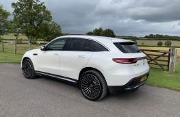Mercedes EQC, rear