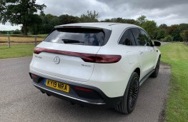 Mercedes EQC, rear