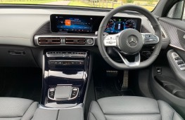 Mercedes EQC, interior
