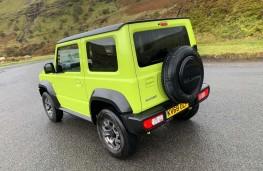 Suzuki Jimny, rear