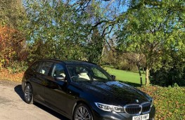BMW 3 Series Touring, front