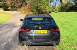 BMW 3 Series Touring, rear